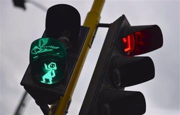 'Prudencia', la nueva peatona que llega a los semáforos inteligentes en Bogotá