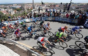 Un colombiano ya se metió en el Top 10 de la Vuelta a Burgos