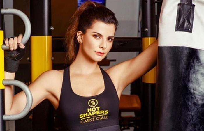 Carolina Cruz, modelo y presentadora colombiana. Foto: Instagram