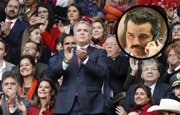 ¿Duque apoya las series de narcos en Colombia?