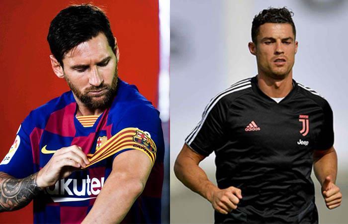 Messi y Cristiano Ronaldo lesionados