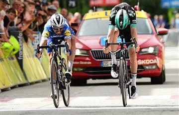 ¡Qué grande! Álvaro Hodeg ganó la quinta etapa de la Vuelta a Benalux