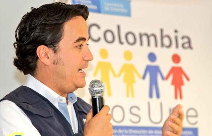 Christian Krüger Sarmiento, director de Migración Colombia. Foto: Twitter