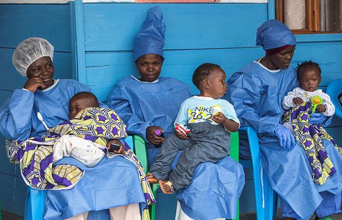 ¿En qué parte del mundo está presente el ébola?