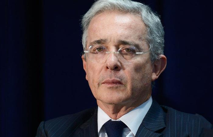 Álvaro Uribe, actual senador de la República para el período 2018-2022. Foto: Twitter