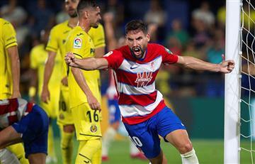 ¡Lluvia de goles! Villarreal con Carlos Bacca y Granada con Adrián Ramos empataron ¡4-4!