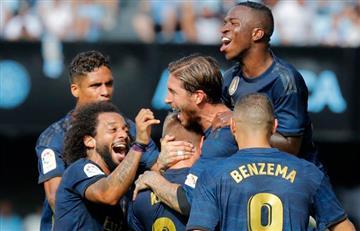 Sin James y con 10, Real debutó con victoria en la Liga de España