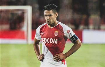 ¡Preocupante! Falcao no jugó en la derrota del Mónaco por lesión