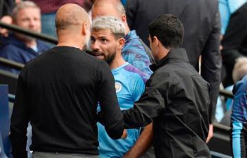 [VIDEO] ¡Primer round! Así fue la pelea entre Kun Agüero y Guardiola en pleno partido