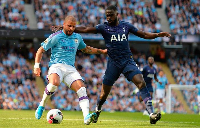 Premier League Resultado Goles Manchester City Tottenham Davinson Sanchez