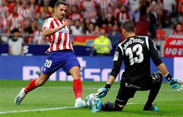 Atlético Madrid gana en su debut de Liga sin Santiago Arias