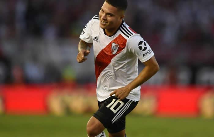 Juan Fernando Quintero - River Plate - EFE