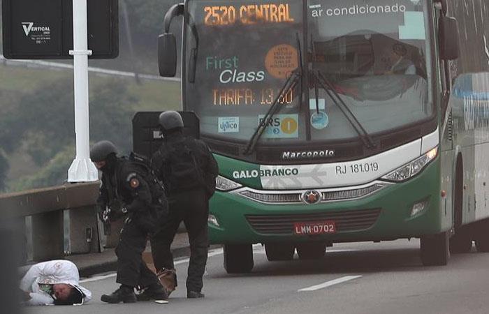 Asesinan a secuestrador en Río de Janeiro