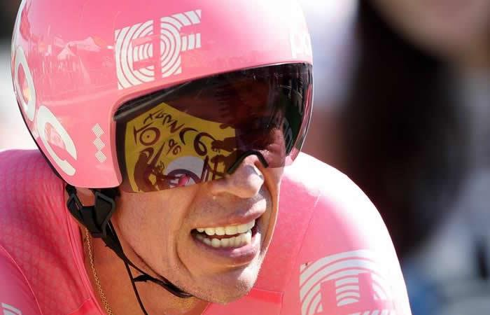 Vuelta España Rigoberto Urán EF Sergio Higuita UCI