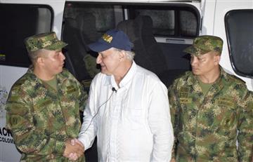 Manuel Elkin Patarroyo fue rescatado tras naufragar con su equipo de investigadores en el río Amazonas