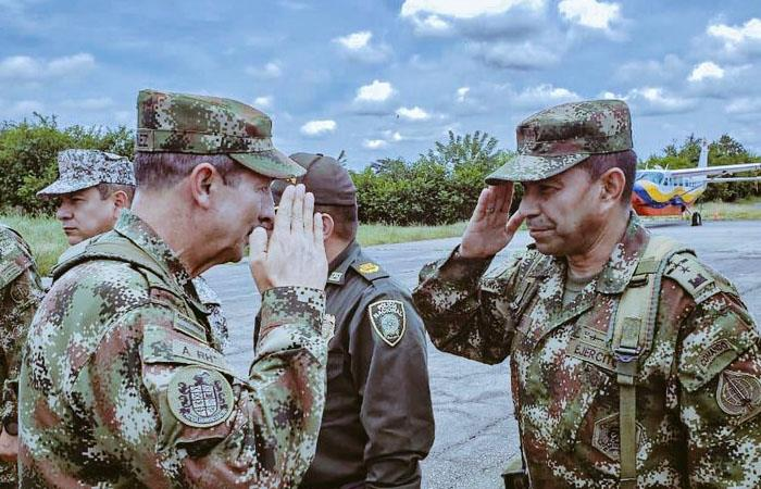 Habrán más militares en suroccidente de Colombia