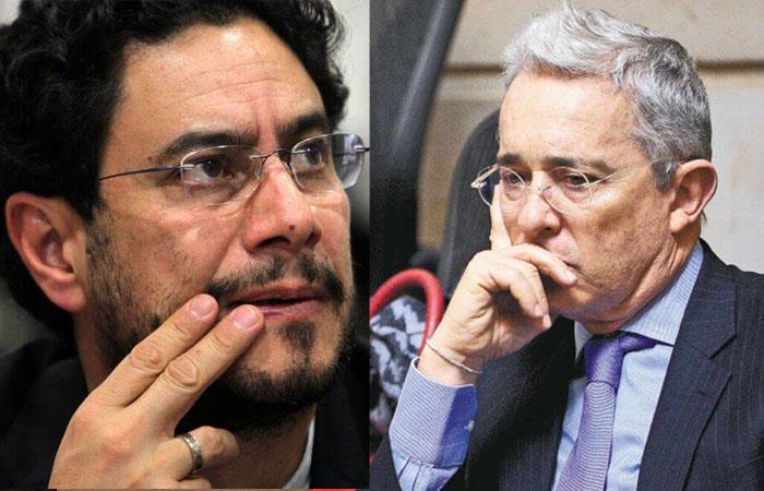 Uribe le dice guerrillero a Iván Cepeda