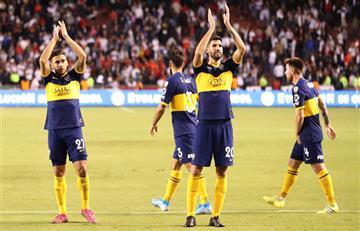 ¡Rumbo a semis! Boca goleó a Liga de Quito con varios colombianos en el compromiso