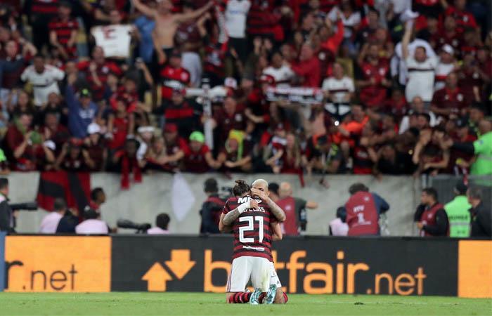 Copa Libertadores Flamengo ganó Inter de Porto Alegre cuartos de final