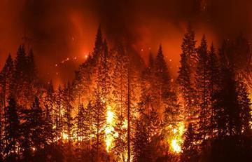 ¡Atención! Humo de los incendios en la Amazonía empieza a cubrir el hemisferio sur