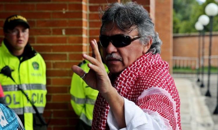 """""""Jesús Santrich"""", representante a la Cámara por el partido de la FARC. Foto: Twitter"""
