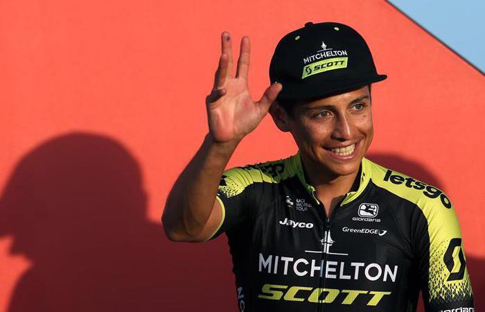 Esteban Chaves será protagonista en la Vuelta a España. Foto: EFE