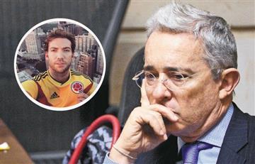 ¡Retratado! Martín Santos demostró que a Uribe sí le gusta hablar de su papá