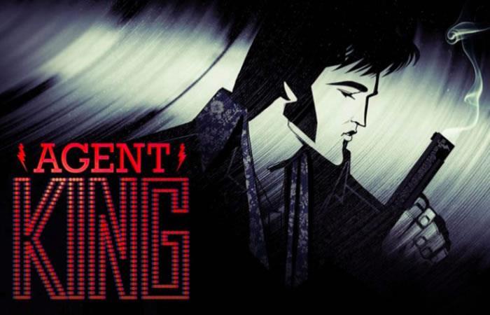 'Agent King' será el título de esta serie animada para adultos. Foto: Instagram/elvis