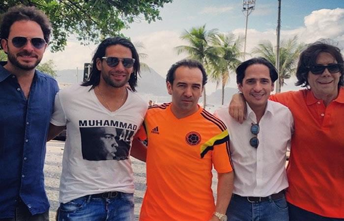 Yamid Amat Jr. se recupera en una clínica de Barranquilla. Foto: Instagram/yamidamat