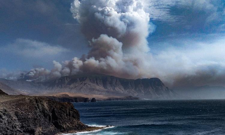 El CO2 que arroja el humo en el planeta provoca lo que se conoce como