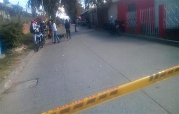 ¡Qué peligro! Evacuan un colegio por presencia de un cilindro bomba