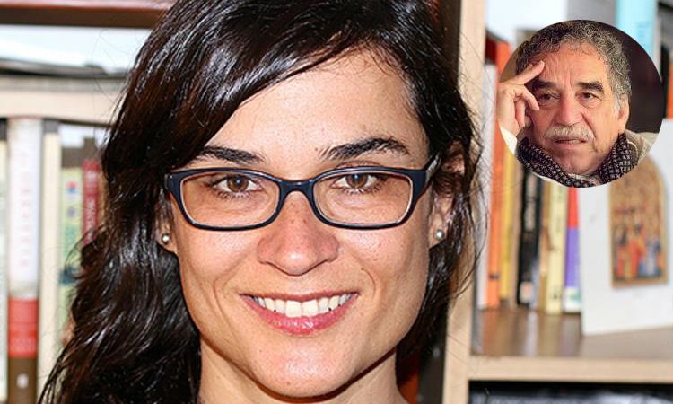 Carolina Sanín (izq) y 'GABO' (der). Foto: Twitter