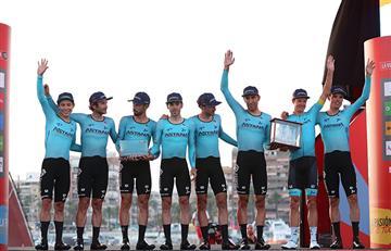 """Esto dijo """"Supermán"""" López tras obtener el liderato de la Vuelta a España"""
