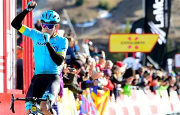 ¡Gigante! 'Supermán' López es el primer líder de La Vuelta a España