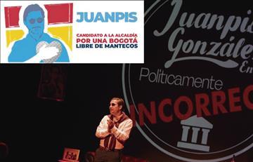 Juanpis Gonzáles va con toda por la Alcaldía de Bogotá
