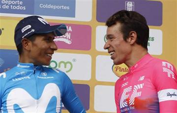 Esto fue lo que le dijo Nairo a Rigo en la segunda etapa de La Vuelta a España