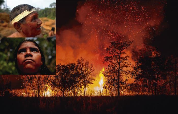 Los pueblos indígenas en aislamiento y la emergencia por incendios en el Amazonas