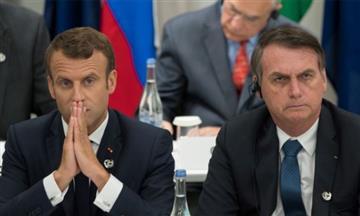 ¡Qué vergüenza! Así fue la ofensa de Bolsonaro a la esposa del presidente de Francia
