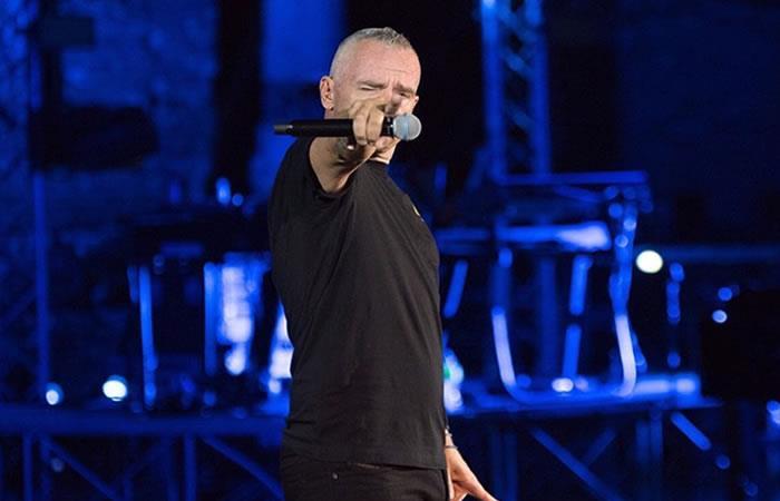 Eros Ramazzotti el próximo 2 de febrero en el Movistar Arena de Bogotá. Foto: Instagram
