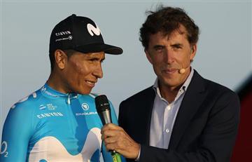 Nairo Quintana se mostró molesto por la noticia de la ciclista que perdió la vida