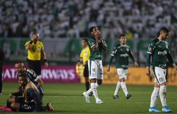 ¡Eliminados! Palmeiras sin Miguel Borja fue eliminado de la Copa Libertadores por Gremio