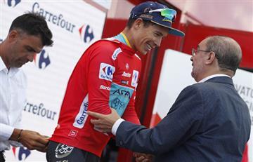 """¡Enorme """"Supermán""""! Esto dijo el nuevo líder de la Vuelta a España"""
