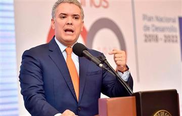 El presidente Iván Duque ofreció $ 3.000 millones de pesos a quien brinde información por los jefes de Farc