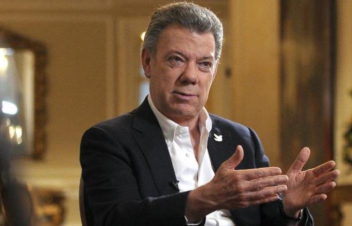 Juan Manuel Santos, expresidente de Colombia (2010-208). Foto: Twitter