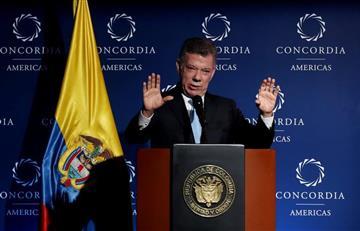 """""""Se debe establecer un acuerdo en la implementación de la paz"""": Santos"""