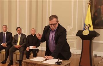 """""""Estamos con la paz"""": 'Timochenko' tras retoma de las armas por parte de 'Iván Márquez'"""