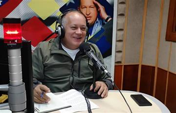 """""""No es culpa de Venezuela"""": Diosdado Cabello niega alianza de Venezuela con las FARC"""
