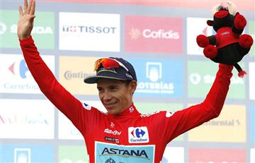 """¡Primero otra vez! """"Superman"""" López habló tras recuperar el liderato de La Vuelta"""