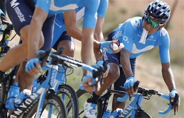 ¿Ayudará a Valverde o intentará ganar? Esto dijo Nairo Quintana sobre su papel en La Vuelta a España