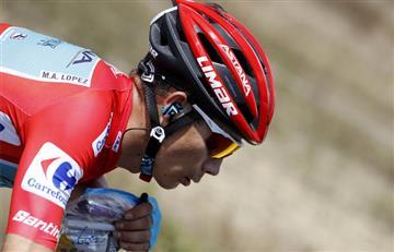 """¡Protagonismo colombiano! """"Superman"""" López vuelve a ser líder de La Vuelta"""
